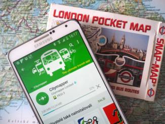 Praktické aplikace při cestách Londýnem - © Foto: TravelPlacesAndLife.com