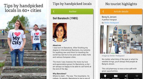 Londýn - Aplikace Spotted by Locals