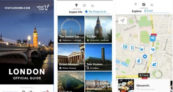 Londýn - Aplikace London Official Guide