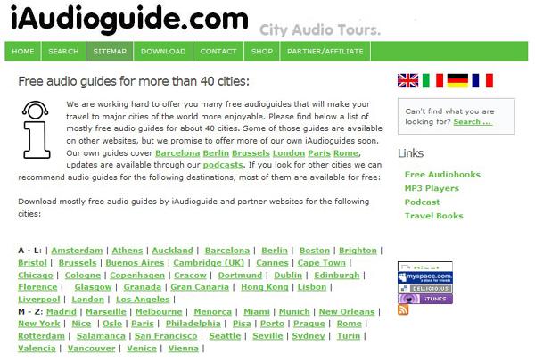 iAudioGuide - audio průvodce