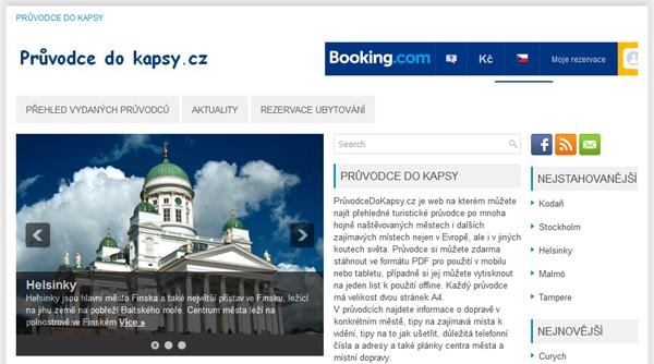 Průvodce do kapsy - cestovatelské informace