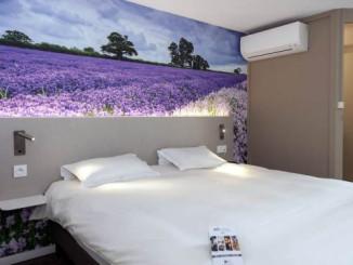Pokoj v hotelu Brit Avignon Sud - © Foto: TravelPlacesAndLife.com