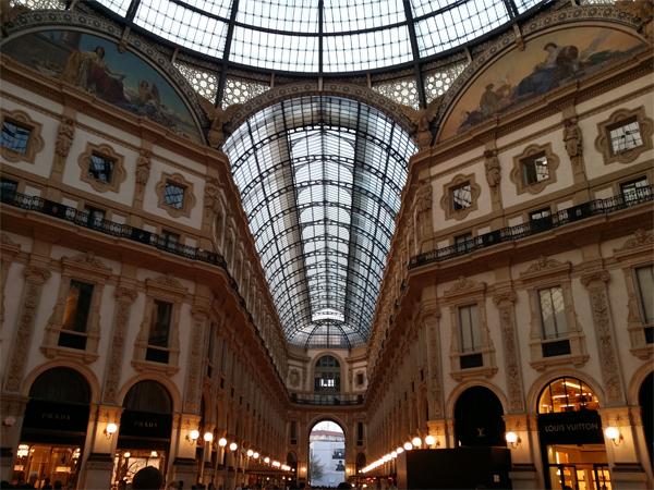 Nákupní galerie Vittorio Emanuelle