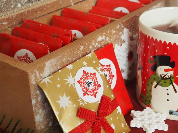 cajovy adventni kalendar Adventní kalendář z čaje: Vyrobte si svůj originál  cajovy adventni kalendar