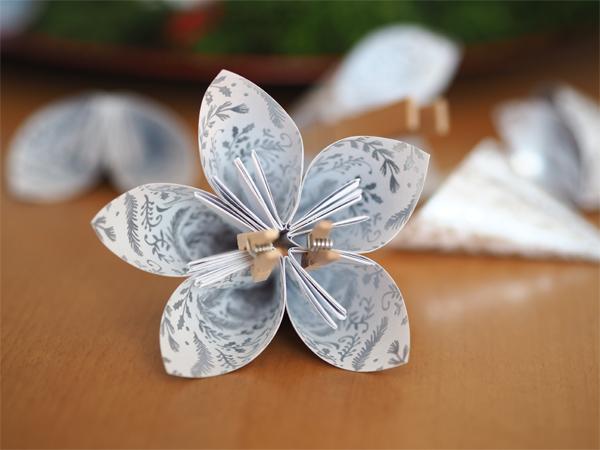 Výroba origami krok 7