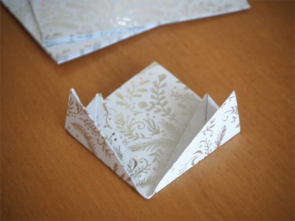 Výroba origami krok 5