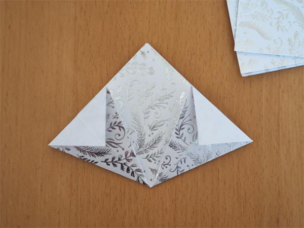 Výroba origami krok 4
