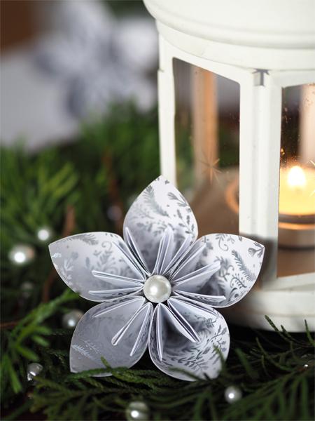 Origami na Vánoce