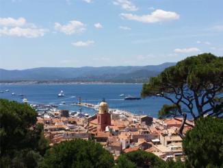 Pohled na Saint Tropez - © Foto: TravelPlacesAndLife.com