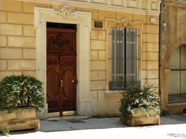 Atmosféra v Aix en Provence