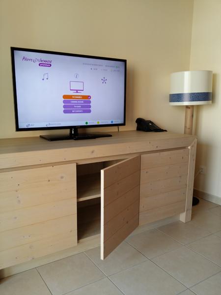 Televize v apartmánu - Cap Martin