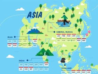 Cestování mimo hlavní sezónu - Infografika