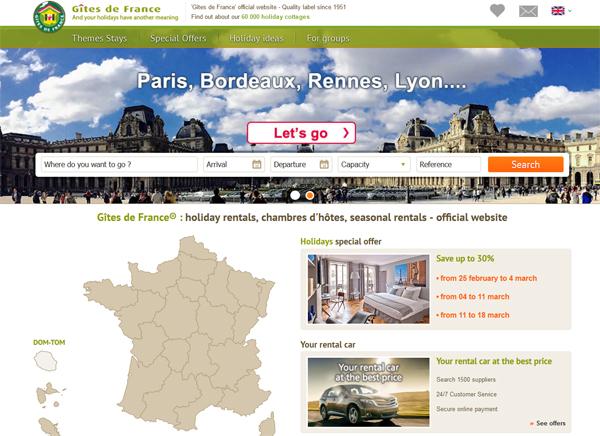 Ubytování Francie