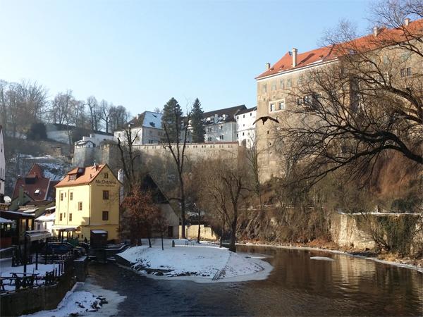 Řeka Český Krumlov