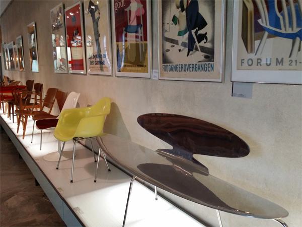 Židle Muzeum Designu Kodaň