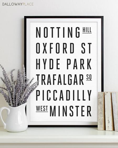 Londýnské-ulice