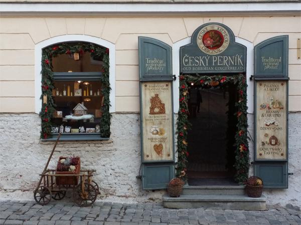 Obchůdky Český Krumlov