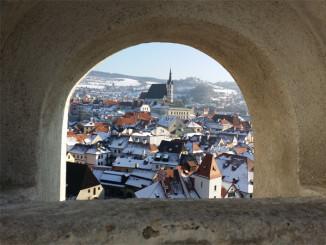 Výhled na Český Krumlov - © Foto: TravelPlacesAndLife.com