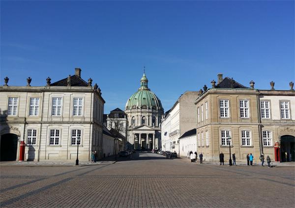 Amalienborg Dánsko
