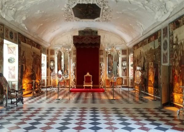 Korunní-sál---zámek-Rosenborg