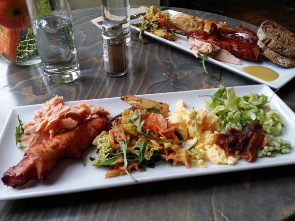Oběd v dánské restauraci Julian