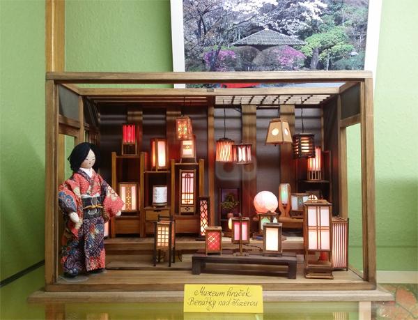 Japonské obydlí - Muzeum hraček Benátky nad Jizerou