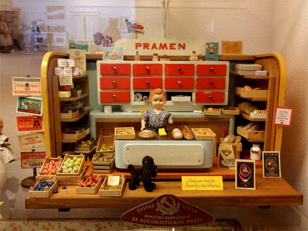 Obchod - Muzeum hraček, Zámek, Benátky