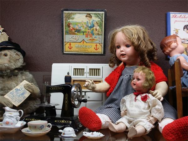 Panenky - Muzeum hraček