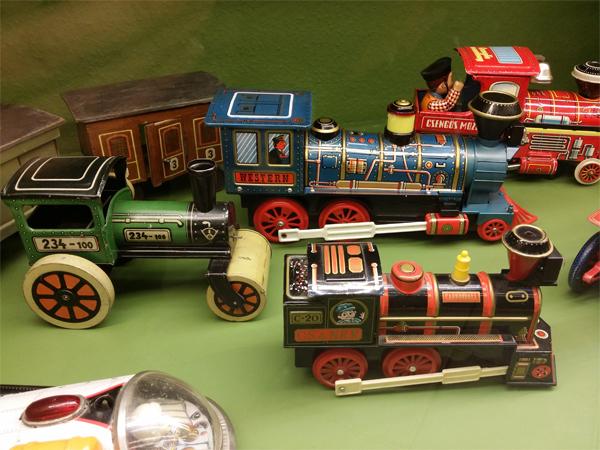 Vláčky - Muzeum hraček Benátky nad Jizerou