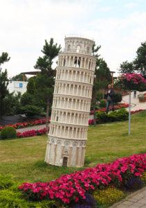 Šikmá věž v Pise - Minieuroland Polsko