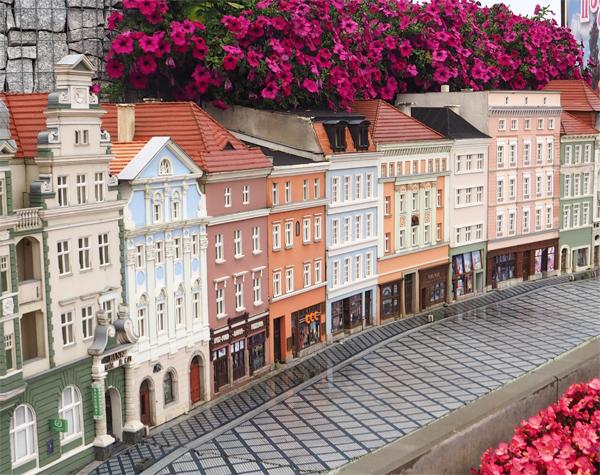 Kamieniczki Rynek - Minieuroland Polsko