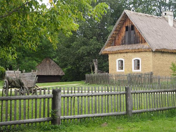 Skanzen Strážnice - dům z Luhačovického zálesí