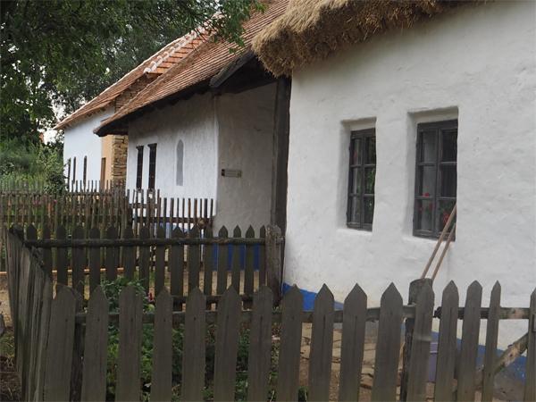 Skanzen Strážnice - domy z Horňácka