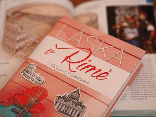 Láska v Římě - kniha