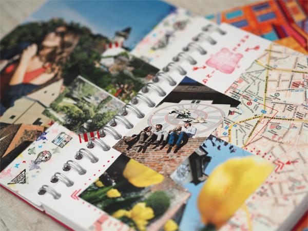 Nápad na Travel Journal
