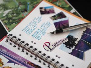 Psaní Trael Journal - © Foto: TravelPlacesAndLife.com