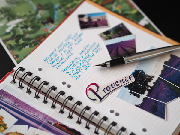 Travel Journal Provence