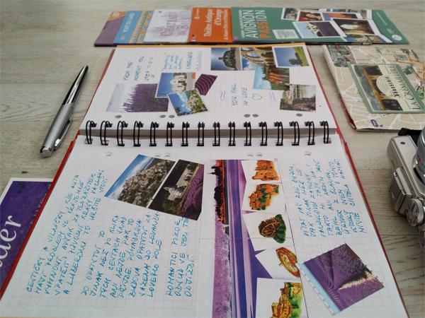 Travel Journal a jeho příprava