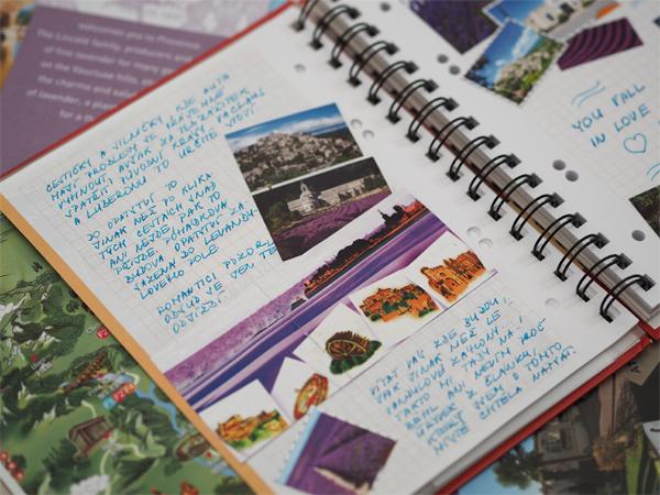 Travel Journal o Provence