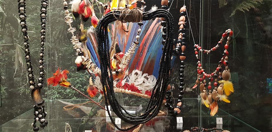 Šperky indiánů - Náprstkovo muzeum