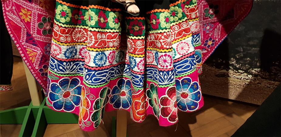 Indiánská sukně - Náprstkovo muzeum